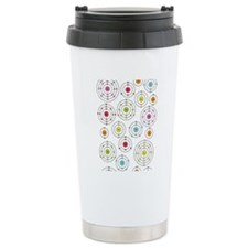 periodic shells fabric Travel Mug