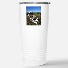 Caribou antlers, Northw Stainless Steel Travel Mug