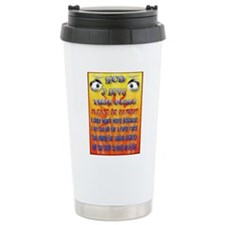 Please Be Patient Poste Travel Coffee Mug