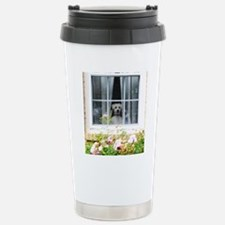 Zak in the windowA Travel Mug