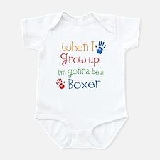 Boxer Grow Up Infant Bodysuit