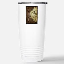 18x13-6_ghost_txt_bg01 Travel Mug