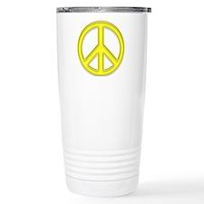 peaceGlowYellow Travel Mug