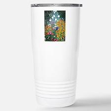 iPad Klimt Flowers Travel Mug