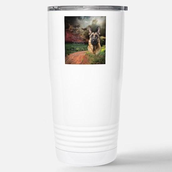 godmadedogs(button) Stainless Steel Travel Mug