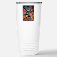 BLACK BAT CMYK Stainless Steel Travel Mug