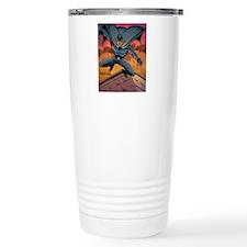 BLACK BAT CMYK Thermos Mug