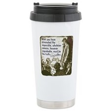 sherlockquote_truthwhit Travel Mug