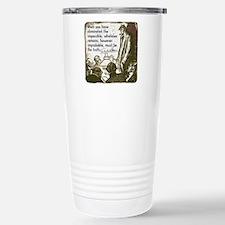 sherlockquote_truthwhit Travel Mug