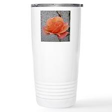coral rose - squared of Travel Mug