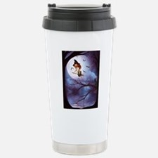 little_witch_framed_pan Stainless Steel Travel Mug