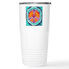 Pillow Blue Peace Thermos Mug