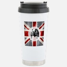 616 Union Jack Bulldog  Travel Mug