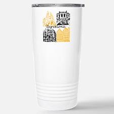 Barcelona_10x10_apparel Stainless Steel Travel Mug