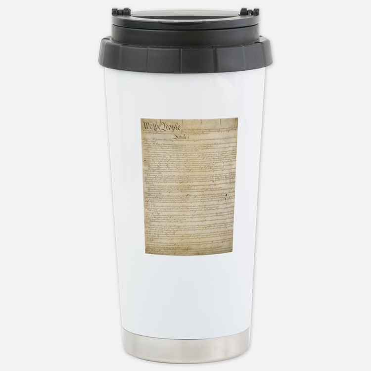 ConstitutionFULL Stainless Steel Travel Mug