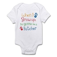 Butcher Grow Up Infant Bodysuit