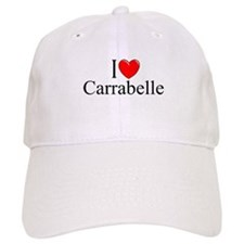 """""""I Love Carrabelle"""" Baseball Cap"""