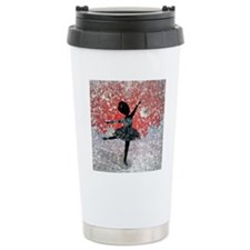 fleur_neige_lore_m_cafe Travel Coffee Mug