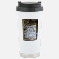 Medieval stone carving  Stainless Steel Travel Mug