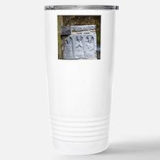Medieval stone carving  Travel Mug