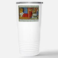 Saint Joachim leaves hi Stainless Steel Travel Mug