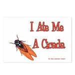 I Ate Me A Cicada Postcards (Package of 8)