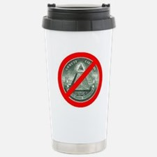END THE NWO Stainless Steel Travel Mug