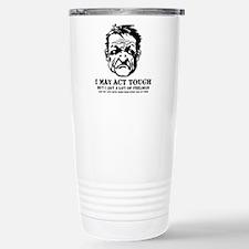 tough_guy_feelings_blk Travel Mug