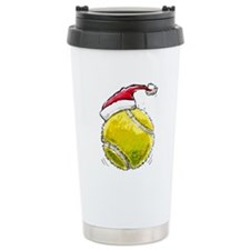 XmasTennis Travel Coffee Mug
