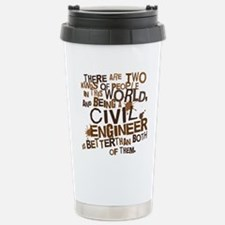 civil_engineer_two_brow Stainless Steel Travel Mug