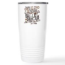 ballet_dancer_two_brown Travel Mug