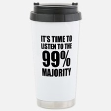 time to listen to 99 ma Stainless Steel Travel Mug