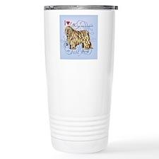 bergamasco-tile Travel Coffee Mug