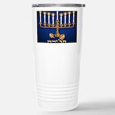 mpad Golden Hanukka Travel Mug