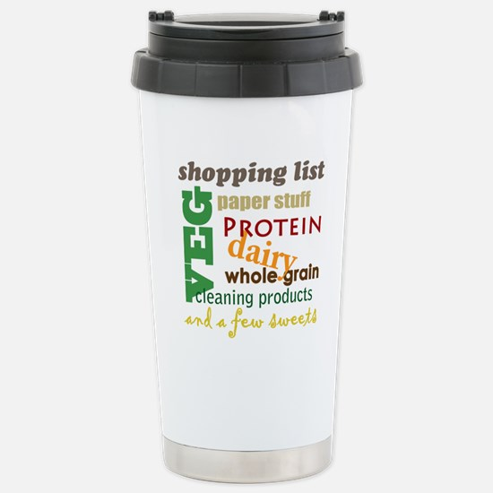 shopping bag Stainless Steel Travel Mug