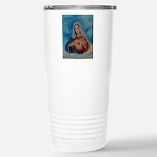 maria-heart Stainless Steel Travel Mug
