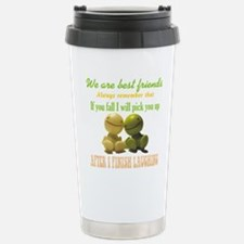 We are best friends Travel Mug