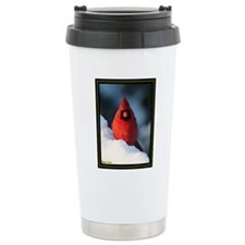 cardinal card text Travel Mug