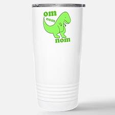dinosaur-green-om-nom Stainless Steel Travel Mug