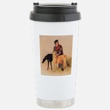 BoyandDeerhound Travel Mug