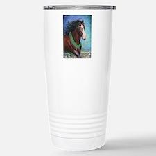 Jingle Bell Horse Stainless Steel Travel Mug