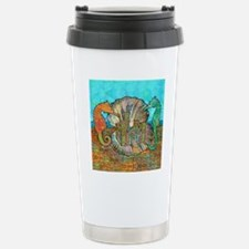 seahorseCastleSquare Travel Mug