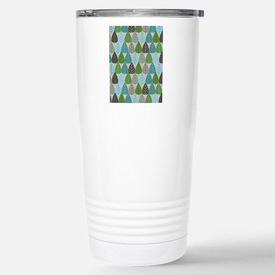 WinterTrees_ipad Stainless Steel Travel Mug