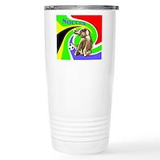 Soccer Elephant rect. s Travel Mug