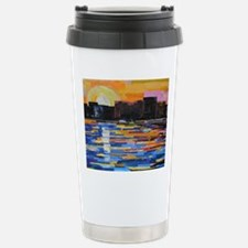 Sunset in the City Travel Mug