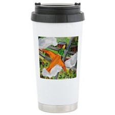 Duck Flying Travel Mug