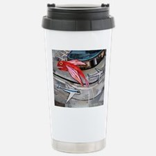 Fish Flies Over an Airp Travel Mug