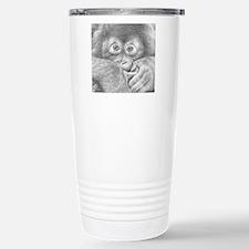 Orangutan (Mens Wallet) Travel Mug