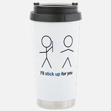 stick up Stainless Steel Travel Mug