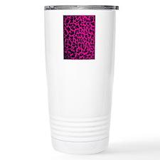 Hot Pink Lep Flip Flops Travel Mug